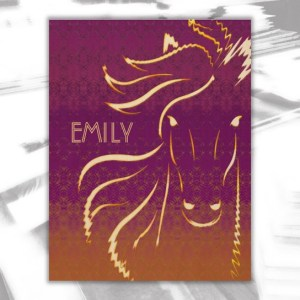 Emily Wood Wall Decor by Patricia Griffin