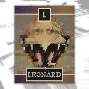 Leonard2 Wood Wall Decor by Patricia Griffin