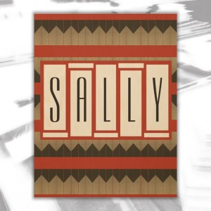 Sally Wood Wall Decor by Patricia Griffin