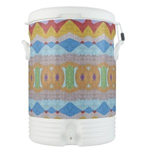 Custom Igloo Cooler by Patricia Griffin