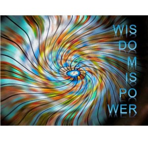 Wisdom is Power by Patricia Griffin