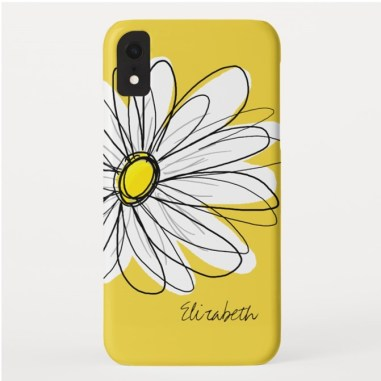 Associate Daisy Personalized Phone