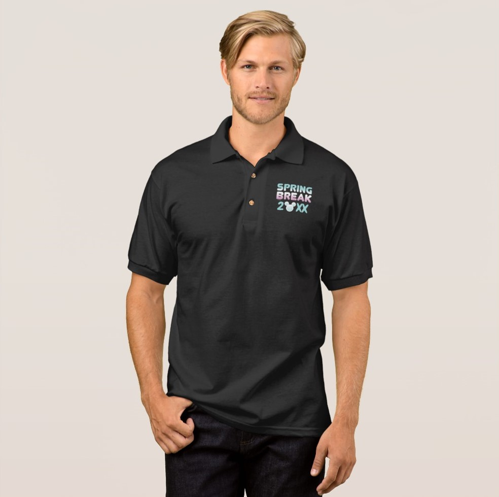 Disney Spring Break Polo Shirt