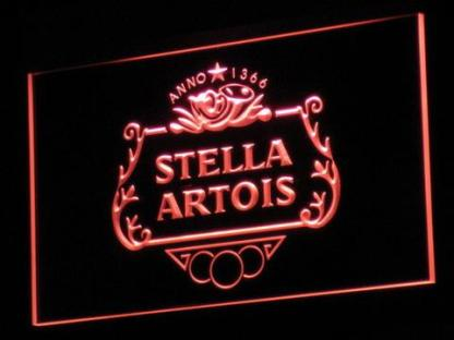 Stella Artois neon sign LED