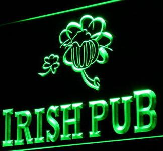 Irish Pub neon sign LED