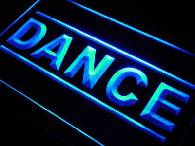 Dance neon sign LED