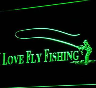 Fly Fishing neon sign LED
