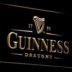 Guinness Draught neon light sign