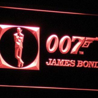 James Bond neon sign LED