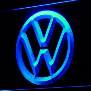 Volkswagen neon sign LED