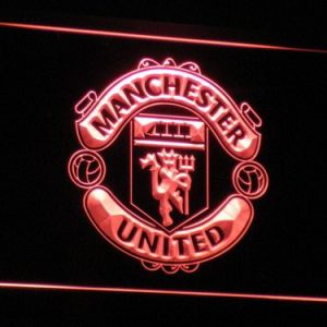 Manchester United F.C. neon light sign