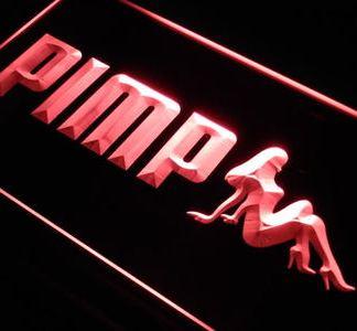 Pimp neon sign LED
