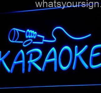Karaoke neon sign LED