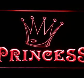 Princess neon sign LED