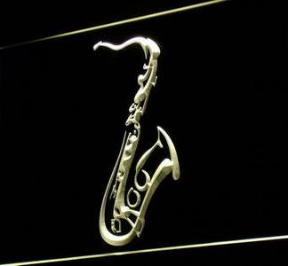 Saxophone neon sign LED