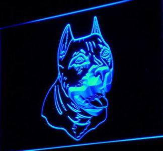 American Pit Bull neon sign LED