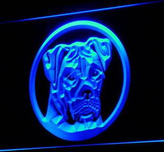 American Bulldog neon sign LED