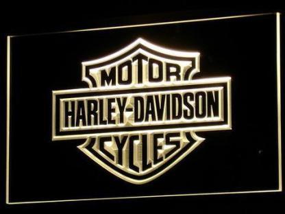 Harley Davidson neon sign LED