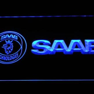 Saab neon sign LED
