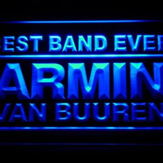 Armin Van Buuren Best Band Ever neon sign LED
