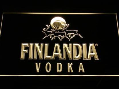 Finlandia neon sign LED