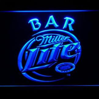 Miller Lite Bar neon sign LED