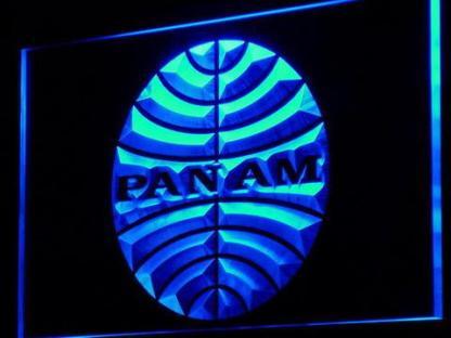 Pan American Airways neon sign LED
