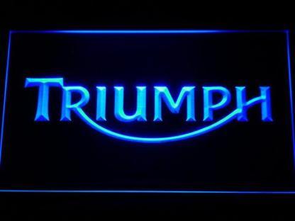 Triumph neon sign LED