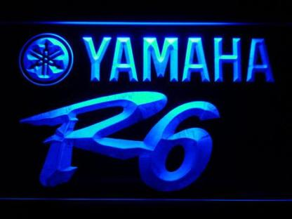 Yamaha R6 neon sign LED
