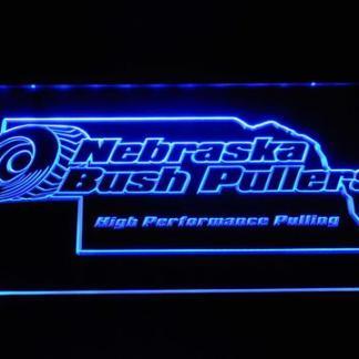 Nebraska Bush Pullers neon sign LED