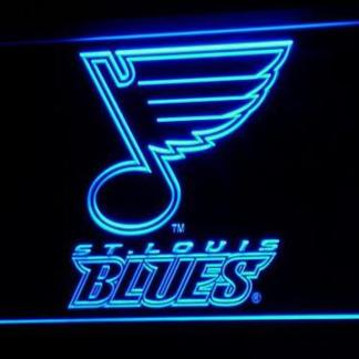 St. Louis Blues neon sign LED