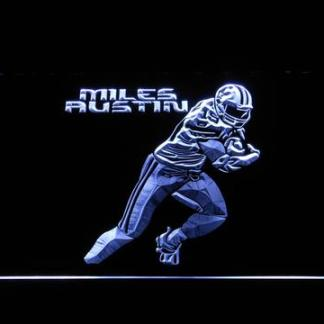 Dallas Cowboys Miles Austin neon sign LED