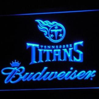 Tennessee Titans Budweiser neon sign LED