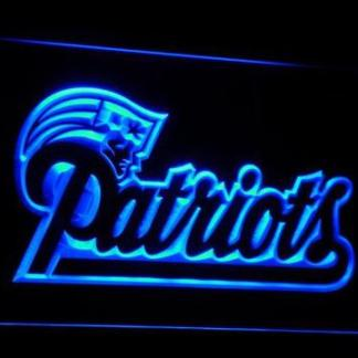 New England Patriots neon sign LED