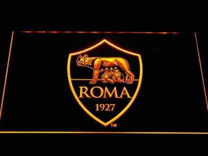 AS Roma neon sign LED