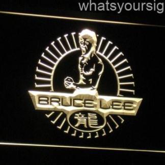 Bruce Lee neon sign LED
