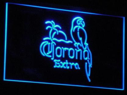 Corona Extra - Parrot neon sign LED