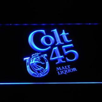 Colt 45 neon sign LED