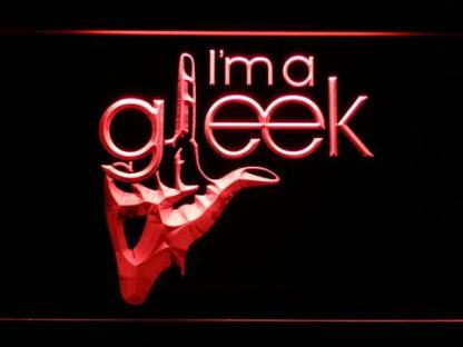 Glee I'm A Gleek neon sign LED
