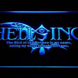 Hellsing neon sign LED