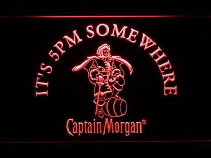 Captain Morgan It's 5pm Somewhere neon sign LED