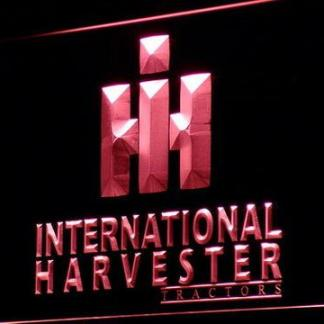 International Harvester Tractors neon sign LED