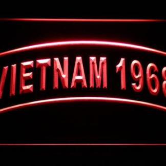 US Army Vietnam 1968 neon sign LED
