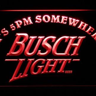 Busch Light It's 5pm Somewhere neon sign LED