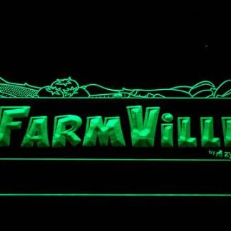 Farmville neon sign LED