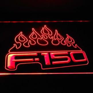 Ford f150 F-150 Flames neon sign LED