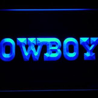 Dallas Cowboys Text neon sign LED