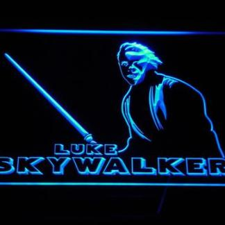 Star Wars Luke Skywalker neon sign LED