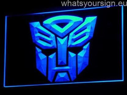 Transformers Autobots Icon neon sign LED