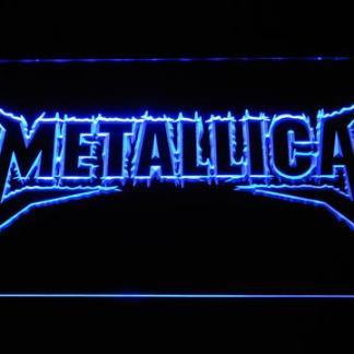 Metallica Wordmark neon sign LED